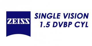 Линза для очков ZEISS Single Vision 1.5 DVBP CYL